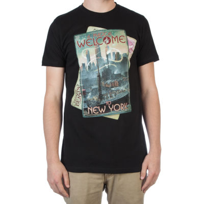Fan Travel Magazine Short Sleeve Graphic T-Shirt