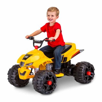 KidTrax Caterpillar CAT ATV Quad 12V Electric Ride-on