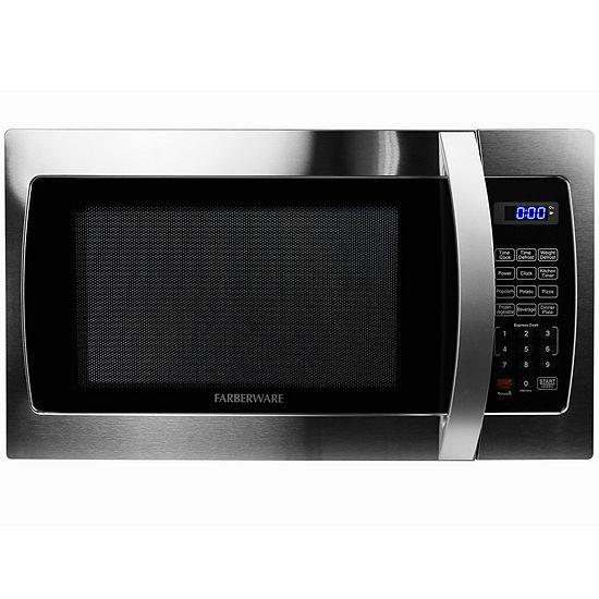 Farberware Professional FMO13AHTBKE 1.3 Cu. Ft 1000-Watt Microwave Oven