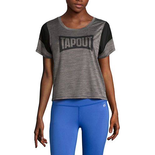 Tapout® Scoop Neck Graphic T-Shirt