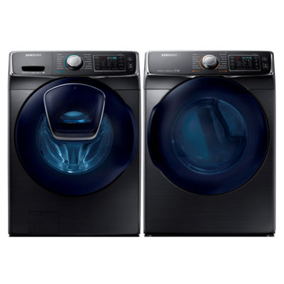 Samsung Front Load 2-pc. Electric Washer & Dryer Set