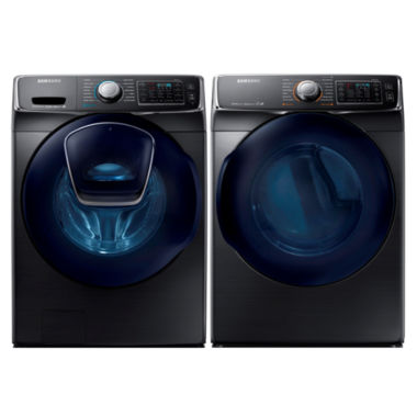 jcpenney.com | Samsung Front Load 2-pc. Gas Washer and Dryer Set