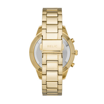 Relic By Fossil Eliza Womens Gold Tone Smart Watch-Zrt1001