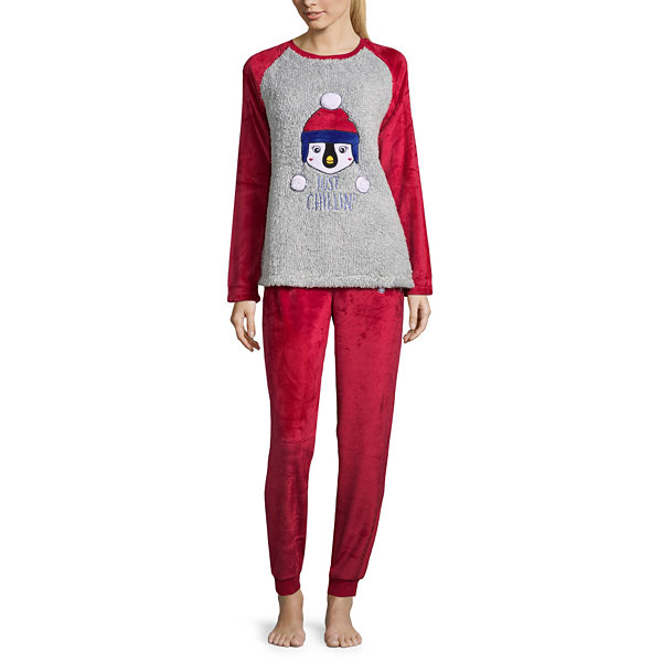 Peace, Love, and Dreams Get Cozy Pant Pajama Set
