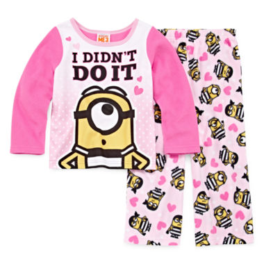 2-pc. Despicable Me Pant Pajama Set Girls