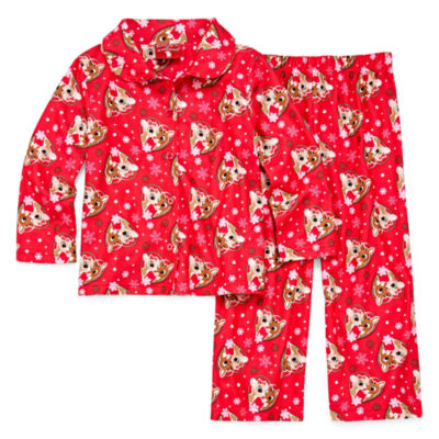 Rudolph The Red Nose Reindeer 2-pack Pant Pajama Set Girls