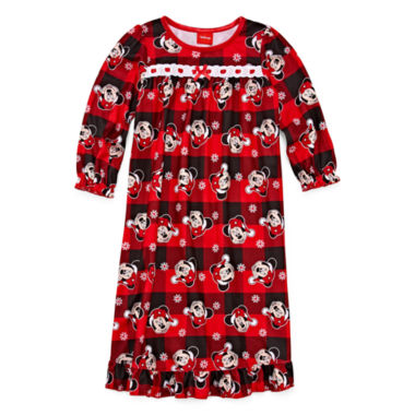 Disney Long Sleeve Minnie Mouse Nightgown-Toddler Girls