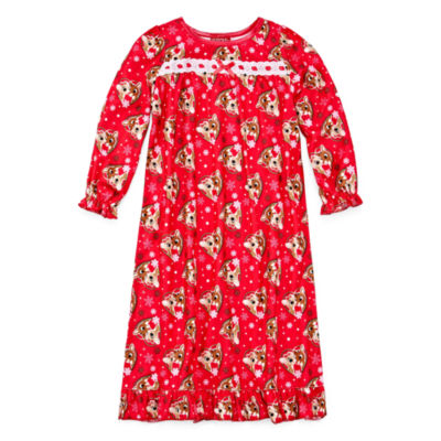 Rudolph The Red Nose Reindeer Long Sleeve Nightgown-Toddler Girls