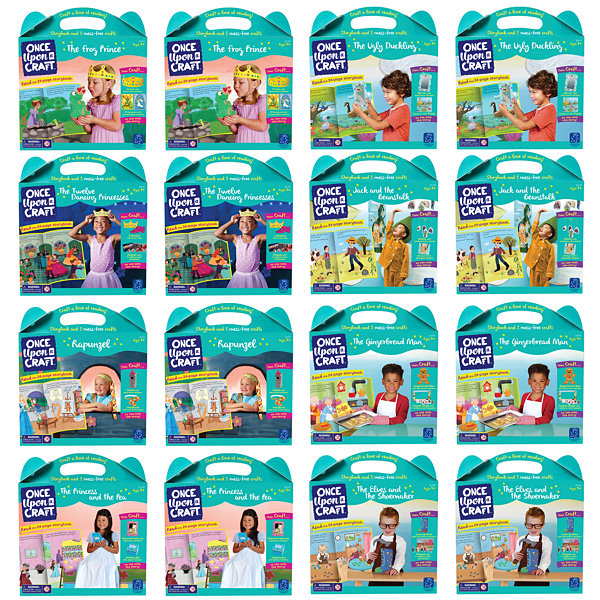 Educational Insights Once Upon a Craft™ Assortment Bundle (16 units-2 of each set)