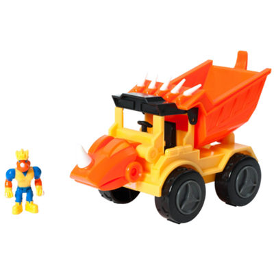 Educational Insights Dino Construction Company™—  Rocko the Styracosaurus Dump Truck Set