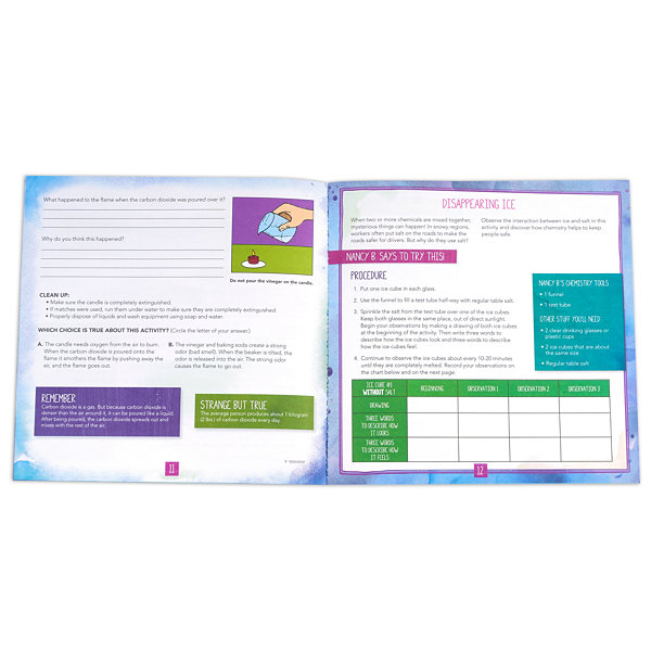 Educational Insights Nancy B's Science Club® Stir-It-Up Chemistry Lab & Kitchen Experiments Journal