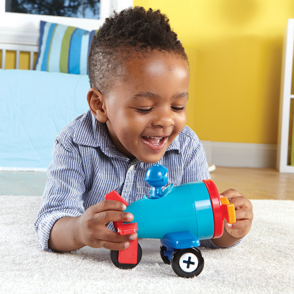 Learning Resources 1-2-3 Build It™ Car-Plane-Boat