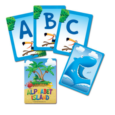 Learning Resources Alphabet Island™ A Letters & Sounds Game