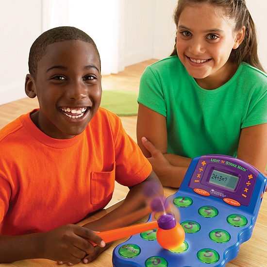 Learning Resources Light N Strike Math Game
