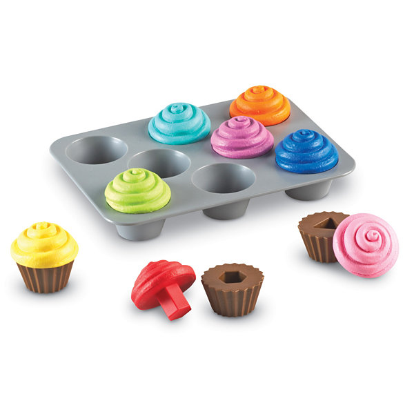 Learning Resources Smart Snacks® Shape Sorting Cupcakes