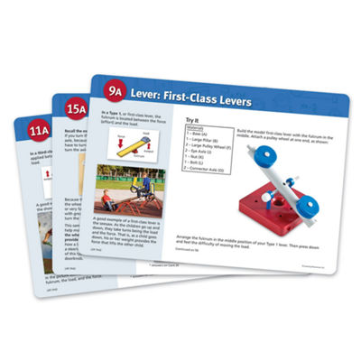 Learning Resources Simple Machines Set Activity Cards