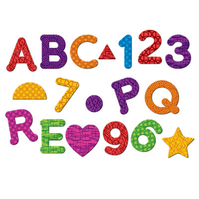 Learning Resources Magnetic Letters Numbers & Shapes