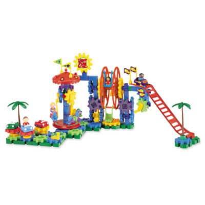 Learning Resources Gears! Gears! Gears!® Dizzy Fun Land™ Motorized Building Set