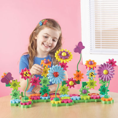 Learning Resources Gears! Gears! Gears! Build & Bloom Building Set