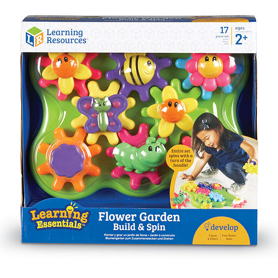 Learning Resources Flower Garden Build Spin