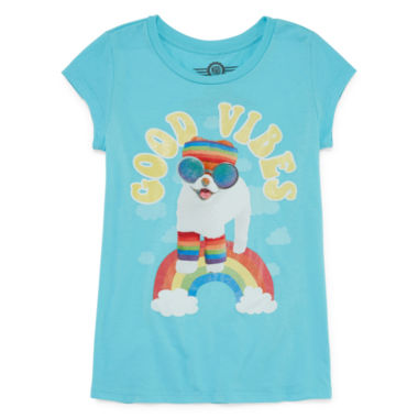 Boo 'Good Vibes' T-Shirt- Girls' 7-16