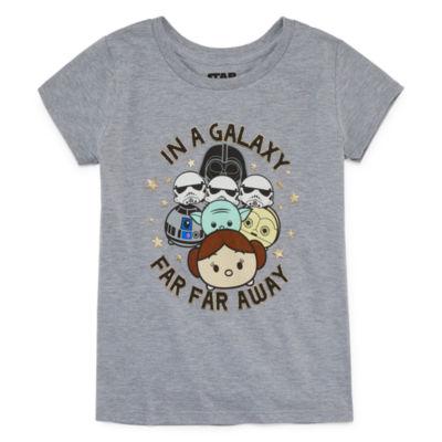 Star Wars Galaxy T-Shirt- Girls' 7-16