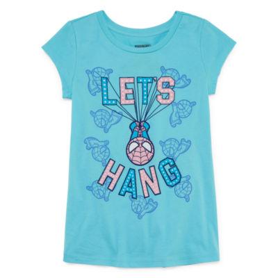 Spideman 'Let's Hang' T-Shirt- Girls' 7-16