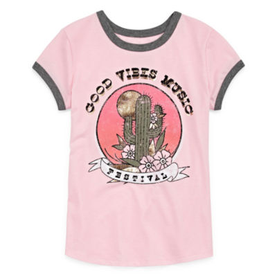 Arizona Short Sleeve Graphic T-Shirt - Girls' 4-16 & Plus