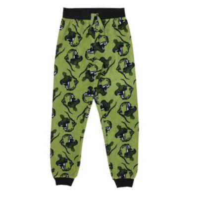 Dinosaur Fleece Jogger Sleep Pant - Boys 4-20