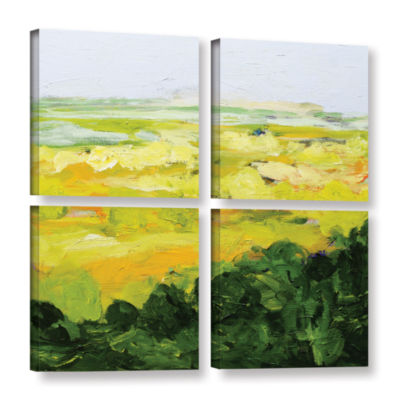 Brushstone Yorkshire 4-pc. Square Gallery WrappedCanvas Wall Art