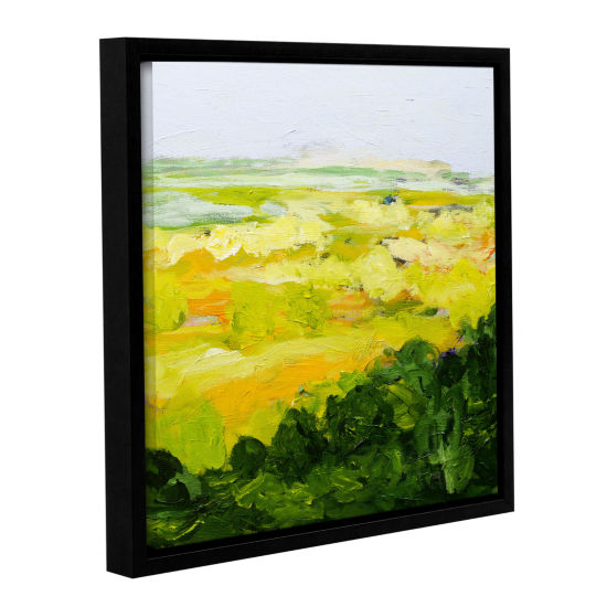 Brushstone Yorkshire Gallery Wrapped Floater-Framed Canvas Wall Art