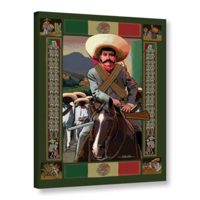 Brushstone Zapata Gallery Wrapped Canvas Wall Art