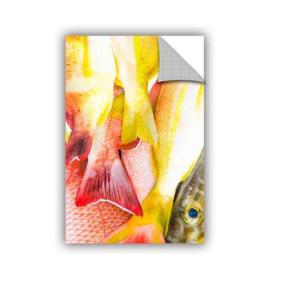 Brushstone Yellowfish Removable Wall Decal
