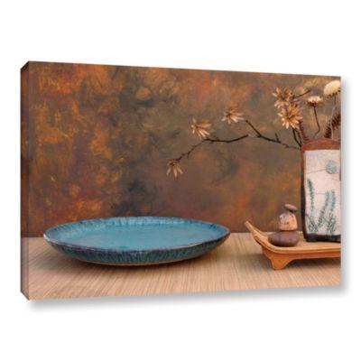 Brushstone Zen Still Life Gallery Wrapped Canvas Wall Art