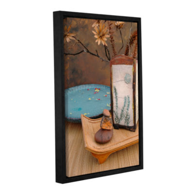 Brushstone Zen Still Life 2 Gallery Wrapped Floater-Framed Canvas Wall Art