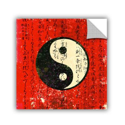 Brushstone Yin Yang Removable Wall Decal