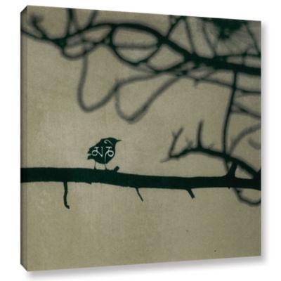 Brushstone Yoga Bird 2 Gallery Wrapped Canvas WallArt