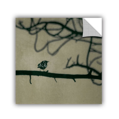 Brushstone Yoga Bird 2 Removable Wall Decal