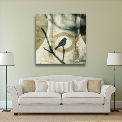 Brushstone Yoga Bird Gallery Wrapped Canvas Wall Art