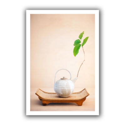 Brushstone Zen New Leaf Canvas Wall Art