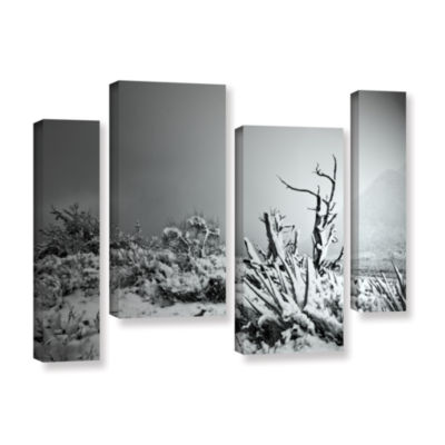 Brushstone You Just Do 4-pc. Gallery Wrapped Staggered Canvas Wall Art