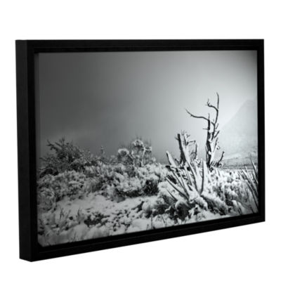 Brushstone You Just Do Gallery Wrapped Floater-Framed Canvas Wall Art