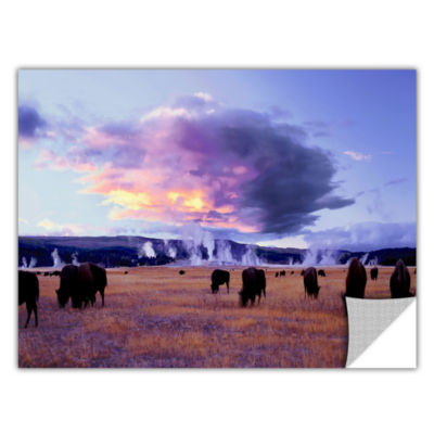 Brushstone Yellowstone Autumn Removable Wall Decal