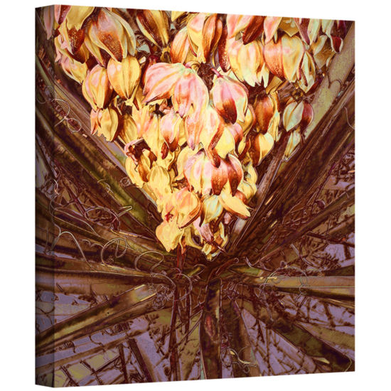 Brushstone Yucca Impression Gallery Wrapped CanvasWall Art