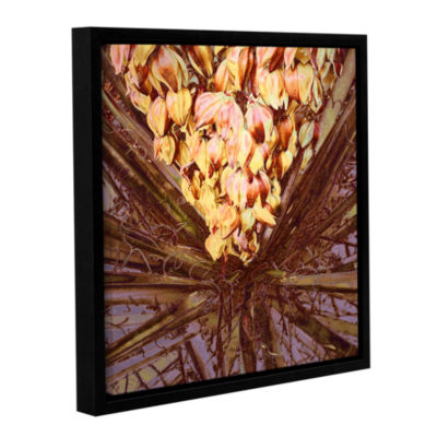 Brushstone Yucca Impression Gallery Wrapped Floater-Framed Canvas Wall Art