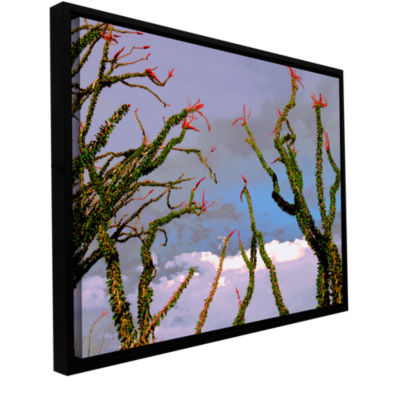 Brushstone Yuma Desert Spring Gallery Wrapped Floater-Framed Canvas Wall Art