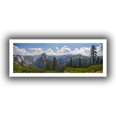Brushstone Yosemite-Half Dome And Nevada Falls Canvas Wall Art