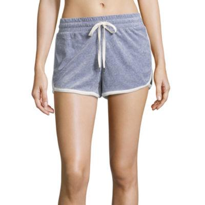 Flirtitude Velour Soft Shorts - Juniors