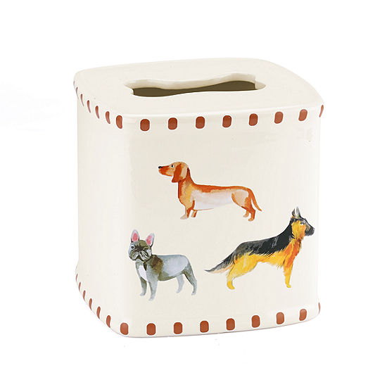Avanti Dogs On Parade Tissue Box Cover