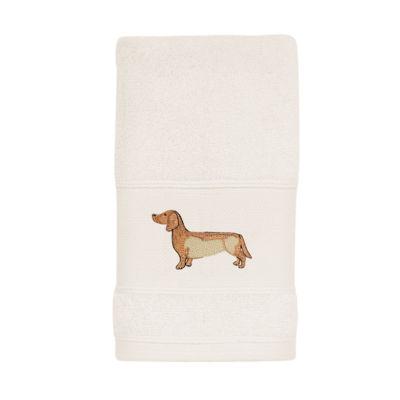 Avanti Dogs On Parade Animal Print Fingertip Towel
